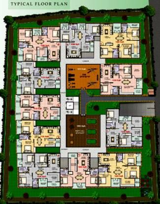 Prime Lavender Apartment Cluster Plan