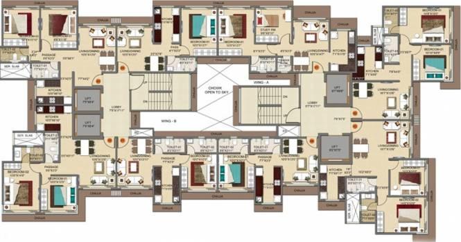 Drushti Embassy in Ghatkopar East, Mumbai - Flats for Sale in ...