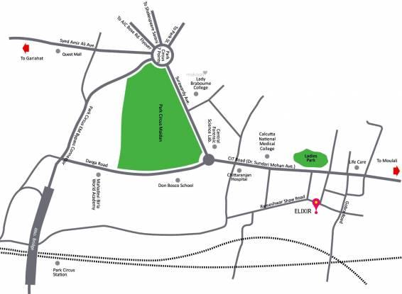 PS Elixir Location Plan