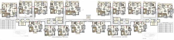 Sumadhura Acropolis Cluster Plan