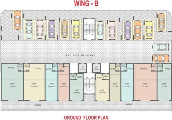 Yash Sherlyn Avenue Cluster Plan