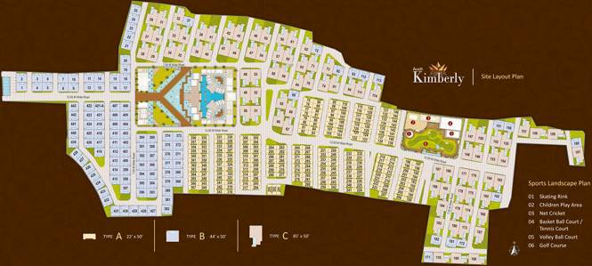 Avadh Kimberly Layout Plan
