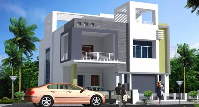 Saket Swarna Villas Elevation
