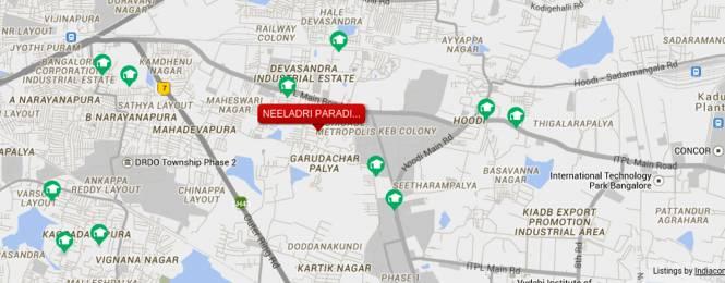 Neeladri Paradise Location Plan