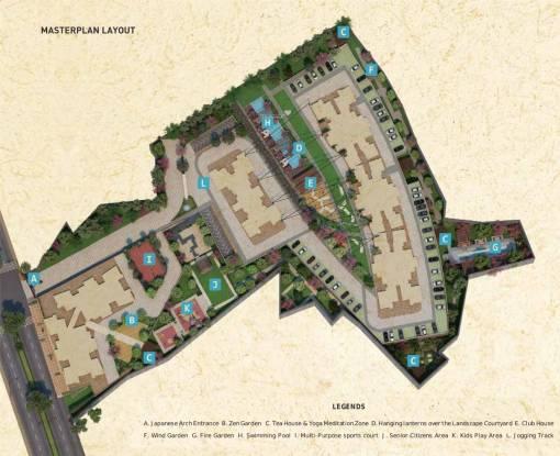 Puraniks Tokyo Bay Master Plan