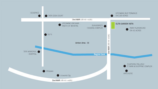 Keppel Magus Development Elita Garden Vista Location Plan