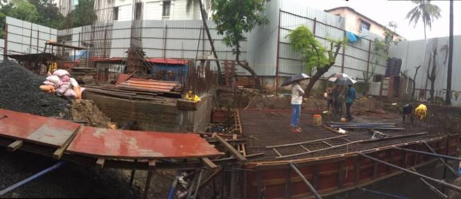 Sabari Nateker Heights Construction Status