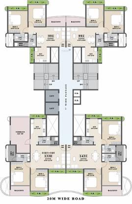 Tricity Palacio Cluster Plan