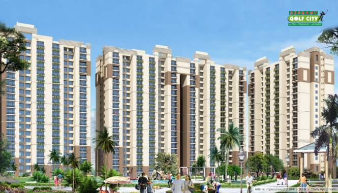 Ansal Serene Lakeview Apartment Elevation