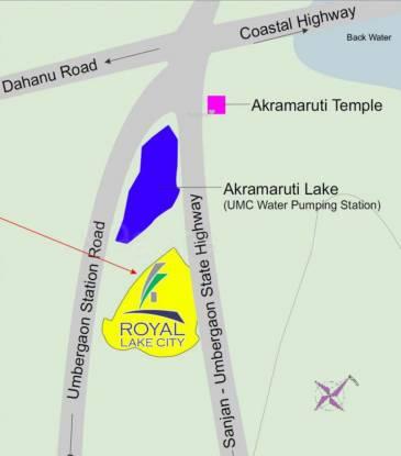 Royal Lake City Royal Lake City A And B Location Plan