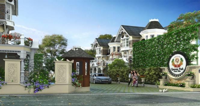 Travancore Queens Park Classic Villas Elevation