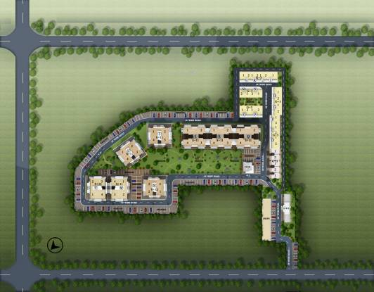 Best Orchid Greens Site Plan