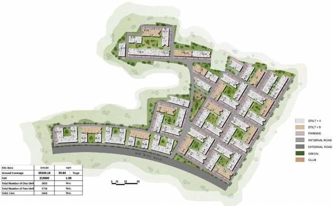 Vedic Eco Homes Master Plan