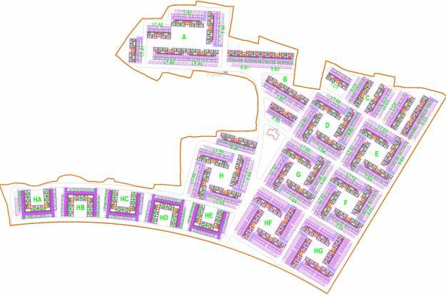 Vedic Eco Homes Site Plan