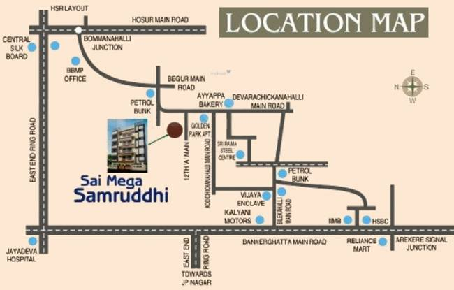 Sai Samruddhi Location Plan