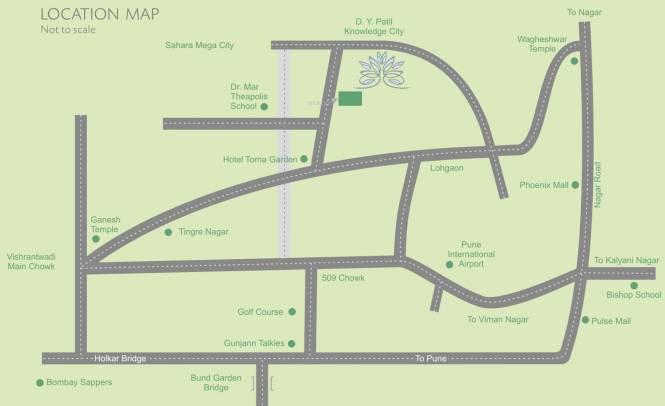 Legacy Tranquil Park Location Plan