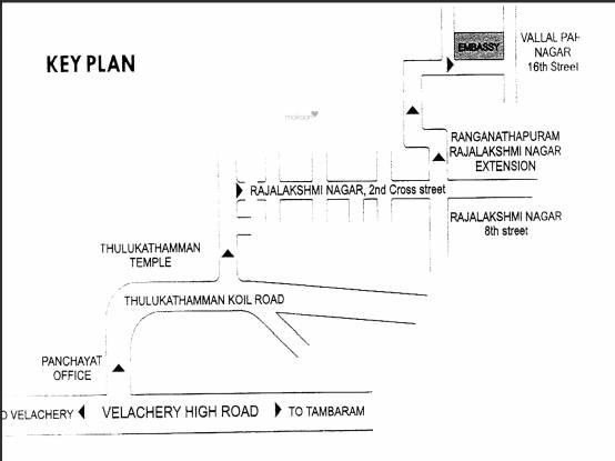 Maaruthi Embassy Location Plan