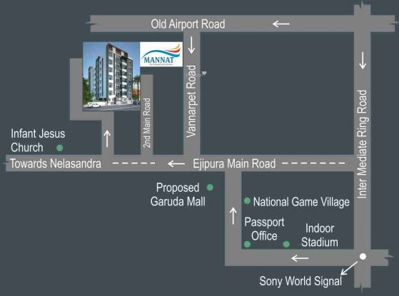 Aithena Mannat Location Plan