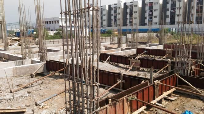 Rajparis Crystal Spring II Construction Status