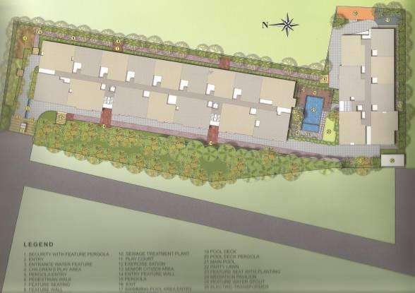 Adiga Vishwendra Site Plan