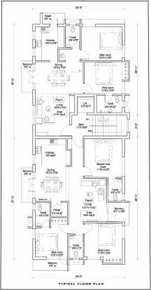 AN Nungambakkam Cluster Plan