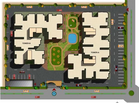 SRM Shree Raj Mahal Site Plan