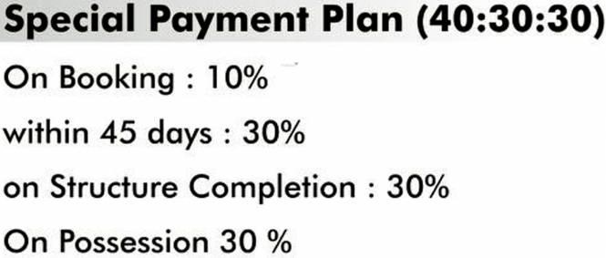 Radhika Homes Payment Plan