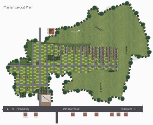 Colorhomes Emerald Bay Layout Plan