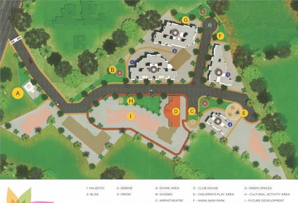 GBK Vishwajeet Paradise Site Plan