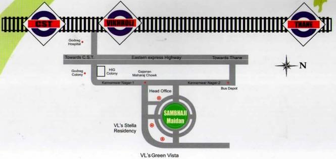 Vaibhavlaxmi Green Vista Location Plan