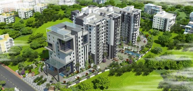 Keerthi Surya Shakti Towers Elevation