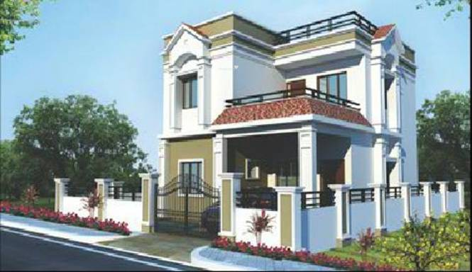 Sri Jagathswapna Realtors Pvt Ltd Sparkle Castle Elevation