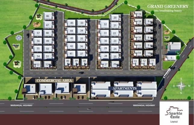 Sri Jagathswapna Realtors Pvt Ltd Sparkle Castle Master Plan