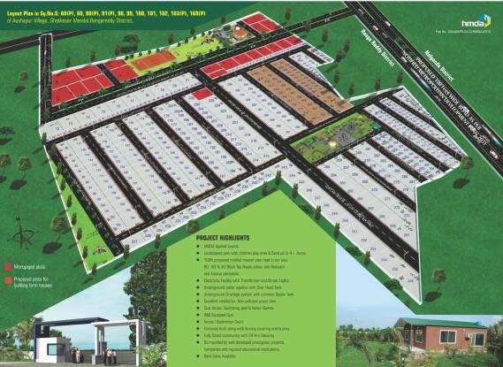 Sri Sparkle Meadows Layout Plan