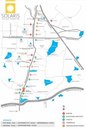 Loharuka Solaris Location Plan