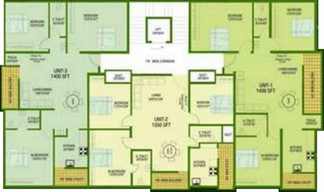 Rangashree Sai Deepam Cluster Plan