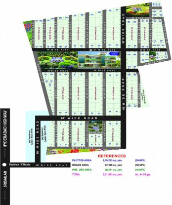 AVC Sita Residency Layout Plan