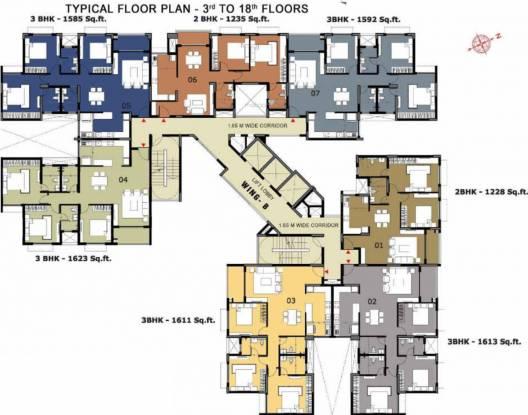 Bren Champions Square Cluster Plan