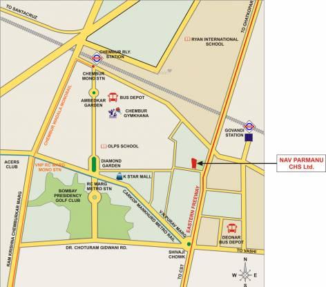 Safal Nav Parmanu Location Plan