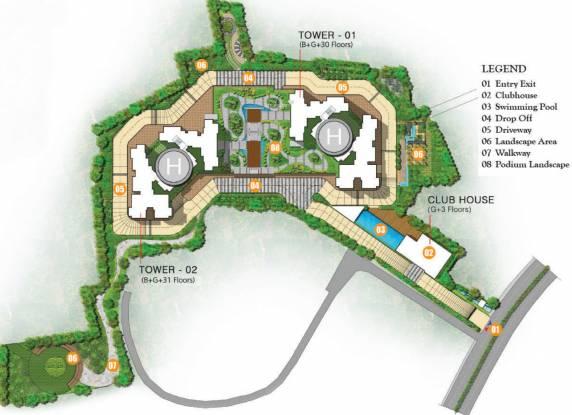 Prestige Valley Crest Site Plan