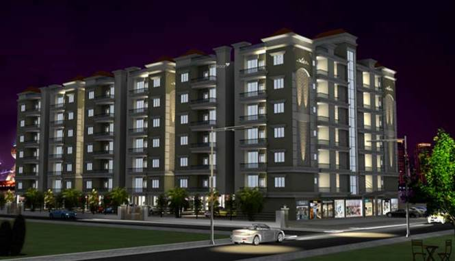 Balaji BCC Vision Apartment Elevation
