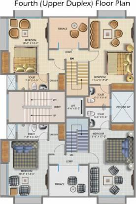 Maharshee Jairam Apartments Cluster Plan