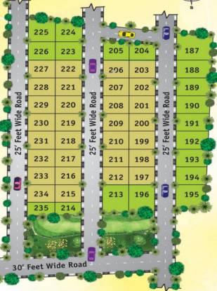 Aakruthi Samudrikaa Enclave Layout Plan
