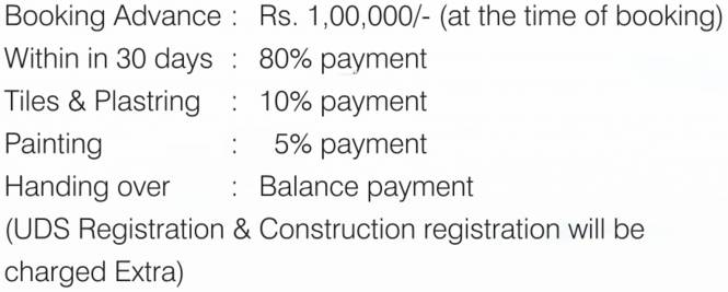 Bhuvana Diamond Hill Payment Plan
