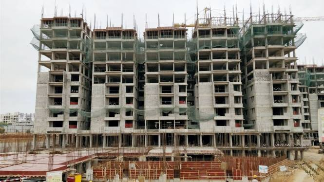 Ramky One Galaxia Construction Status