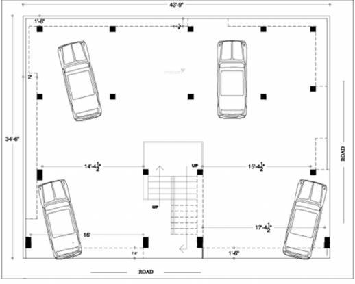 Anu Sri Shenbaga Flats Cluster Plan