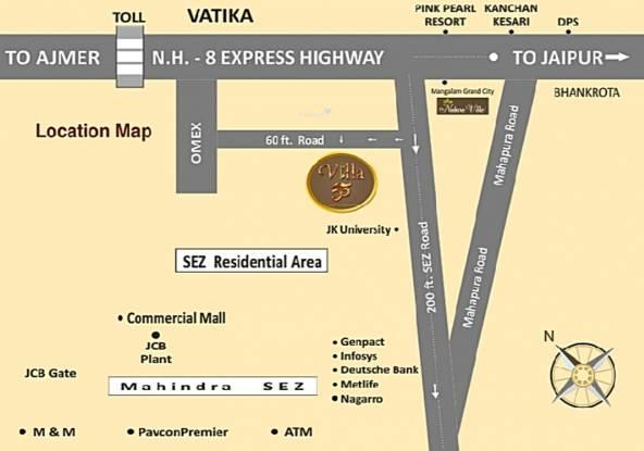 Pinkwall Villa 55 Location Plan