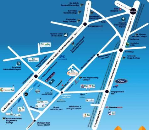 VIP Blue Horizon Location Plan