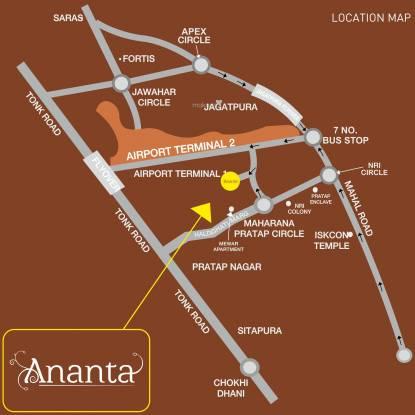 ARG Ananta Location Plan