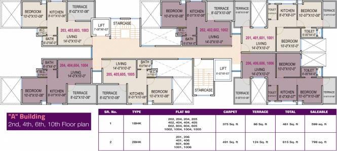 Aksha Elegence Cluster Plan
